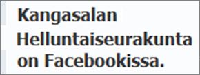 Facebook-sivumme